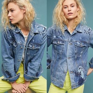 AG Jeans Nancy Embroidered Jacket